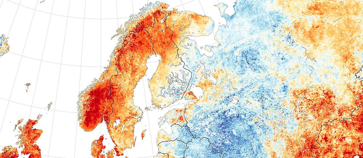गर्म होते यूरोप का मतलब