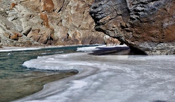चादर ट्रेक लद्दाख क्षेत्र : एक फोटो निबंध