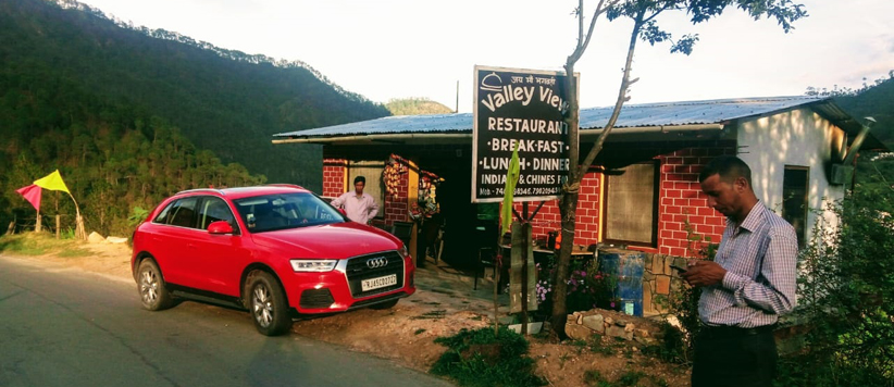 छानी ल्वेशाल के अनिल सिंह दोसाद और उनका वैली व्यू रेस्तरां
