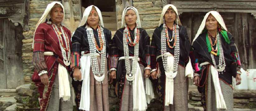 गर्ब्यांग गाँव के लोग, उनके देवता और करजंग गुन्ग्का की कथा