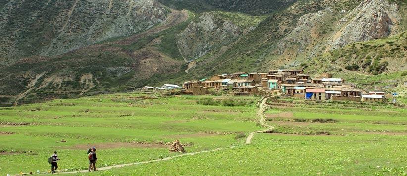 कुटी गाँव, शान्ति काकी और छागानी की खान