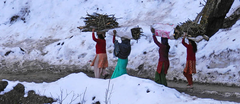 पहाड़ के जीवन को बयान करती अमित साह की तस्वीरें