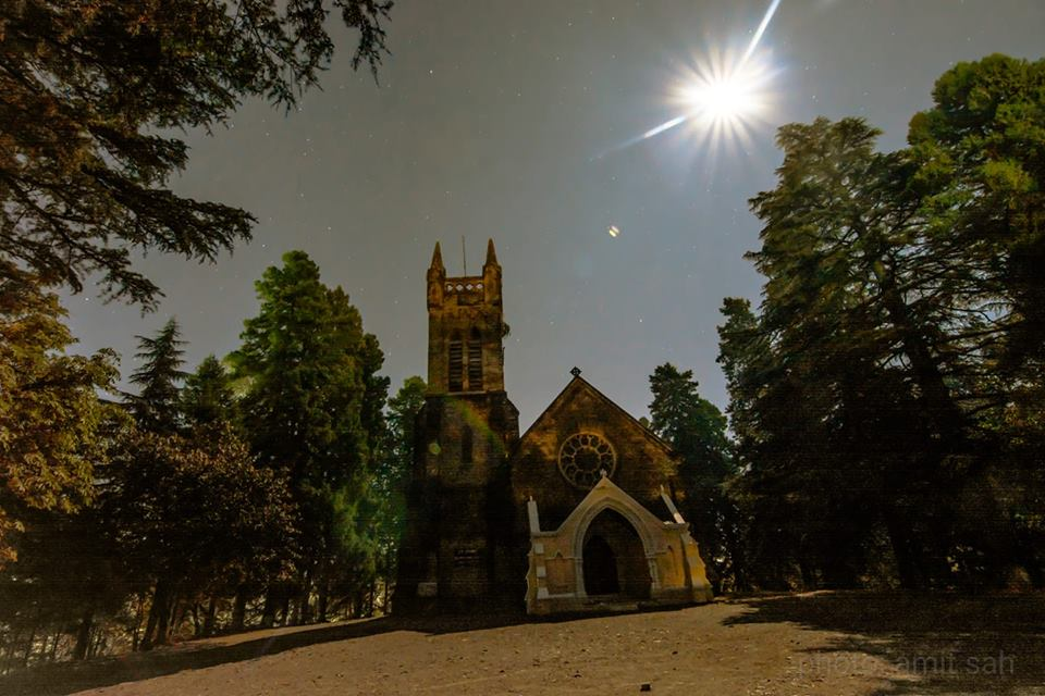 st John Church Nainital