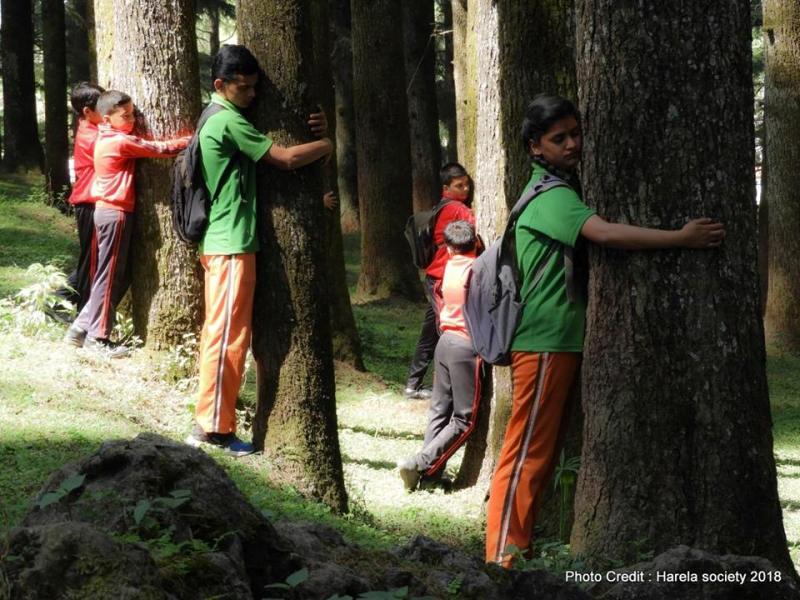 HUG A TREE Harela Society PROGRAM