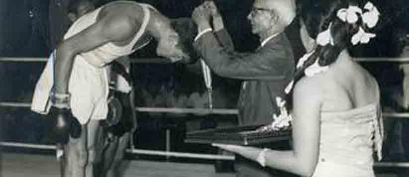 बाक्सिंग में पहला गोल्ड मेडल लाने वाले पदम बहादुर मल्ल