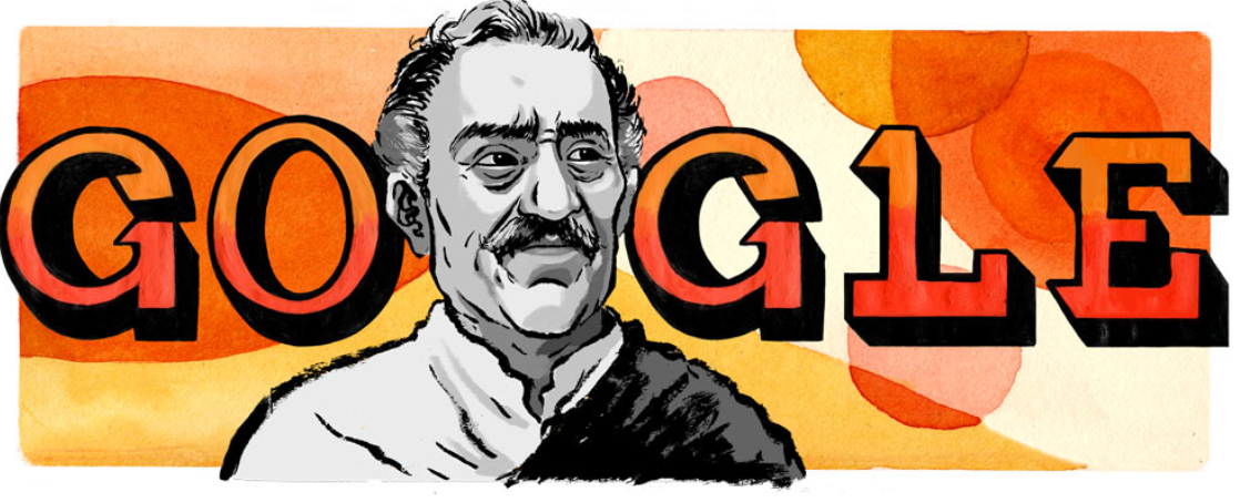 Amrish Puri Birthday Google Doodle