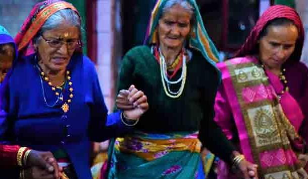 झोड़ा : प्रेम और श्रृंगार से भरा नृत्यगान