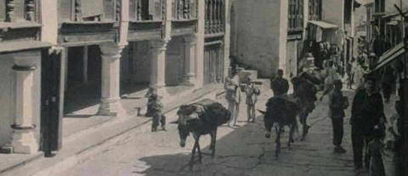 Old British Times Roads to Almora