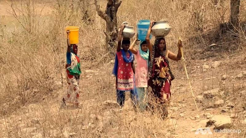 भीषण पेयजल संकट के कगार पर भारत