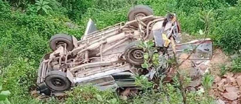 टिहरी में स्कूल बस खाई में गिरी, 9 बच्चों की मौत