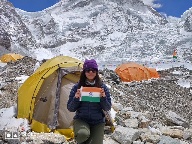 Ameesha Chauhan who conquers Everest