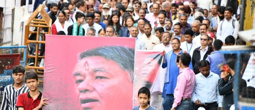 जननायक शमशेर सिंह बिष्ट की याद में आयोजित 'शमशेर स्मृति' की तस्वीरें