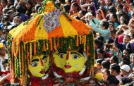 अल्मोड़े में नन्दा देवी कौतिक की तस्वीरें
