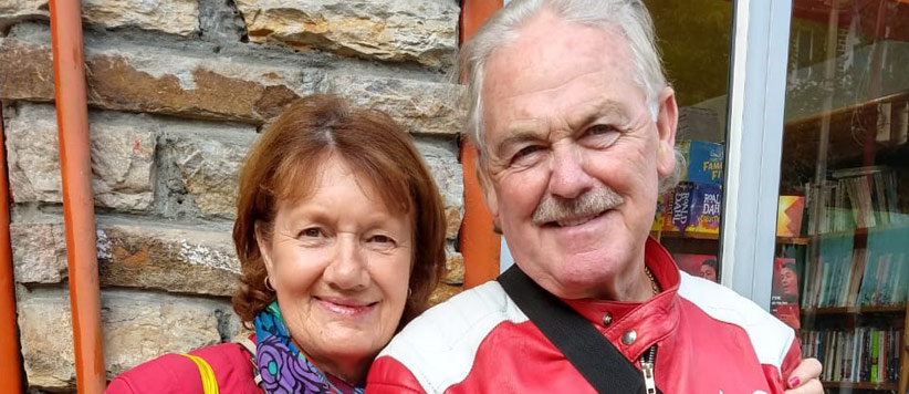 Denis and Vivian from Ireland are in Love with Kumaon