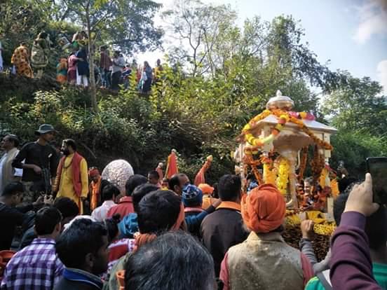 Kedarnath in Winter Season