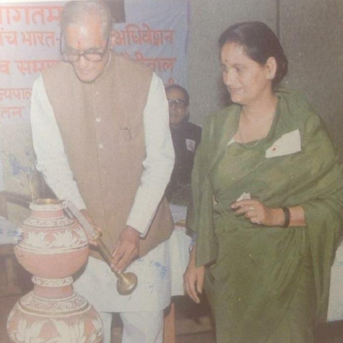 Kala Bisht Founder Principal of  Bharateey Shaheed Sainik School Nainital