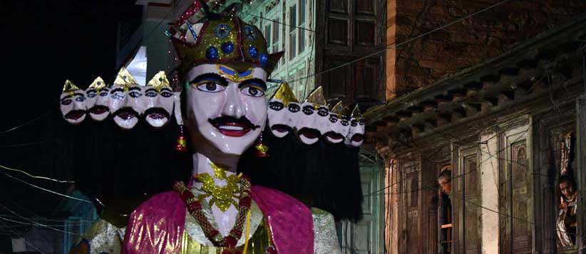 अल्मोड़ा में दशहरा  – जयमित्र सिंह बिष्ट के फोटो