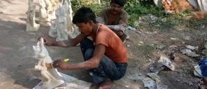 Rajasthani Sculptors in Haldwani