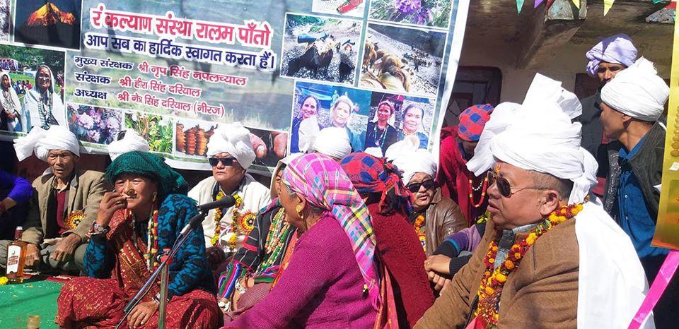 People of Pataon village Munsiyari