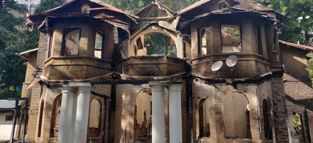 Mohan Park Nainital Gutted