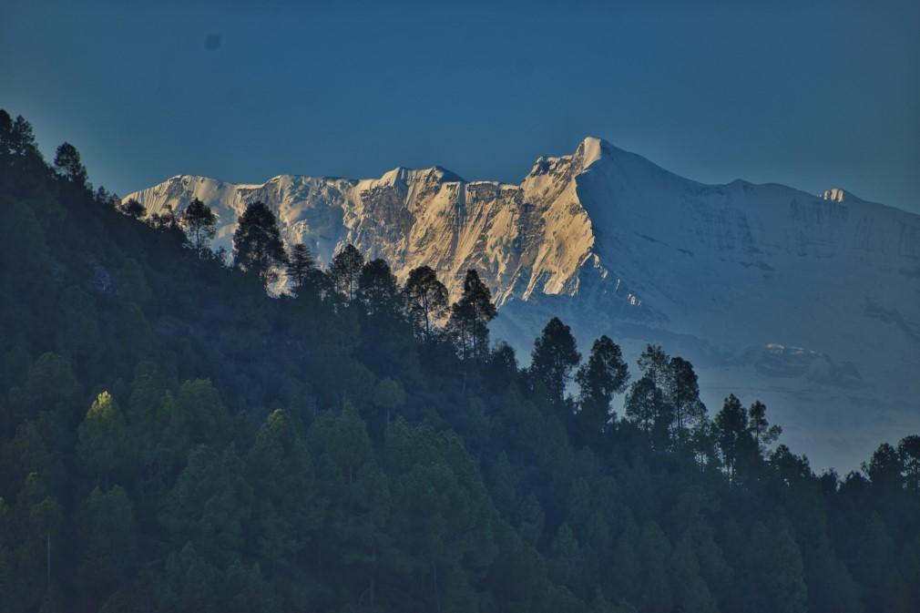 Himalaya form Chandak Hills Pithoragarh