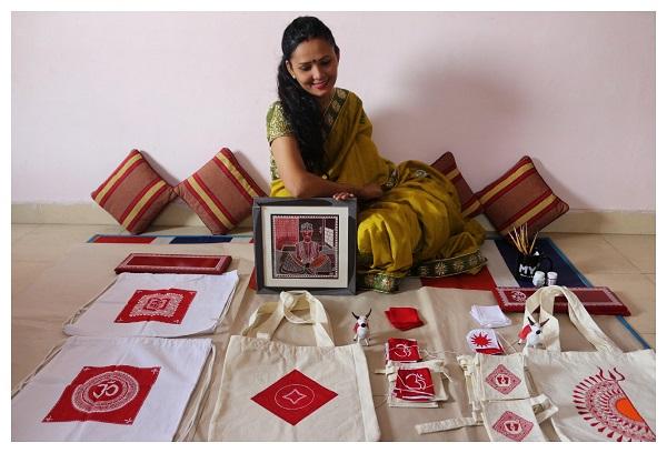 Aipan Artist Abhilasha Paliwal