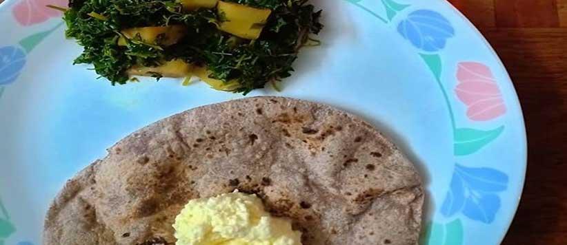 मडुए की रोटी और हरिया साग गुमनाम क्यों