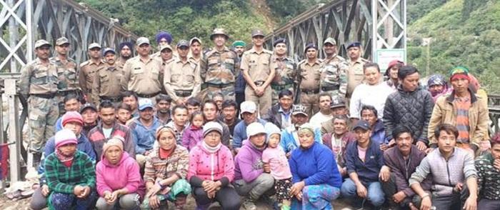 उत्तराखण्ड के शहीद के नाम पर सिक्किम में पुल का नामकरण