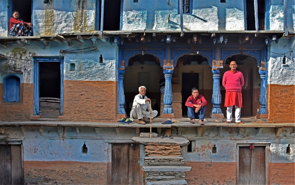 Traditional House in Uttarakhand