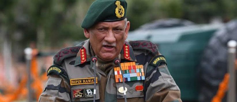 सेना प्रमुख जनरल बिपिन रावत होंगे देश के पहले चीफ ऑफ डिफेंस स्टाफ