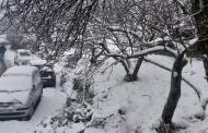 मुक्तेश्वर-धानाचूली में अभी हो रही बर्फबारी की तस्वीरें