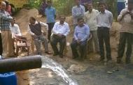 आजादी के 70 बरस बाद चम्पावत के पुल्ला गांव में पानी आ ही गया