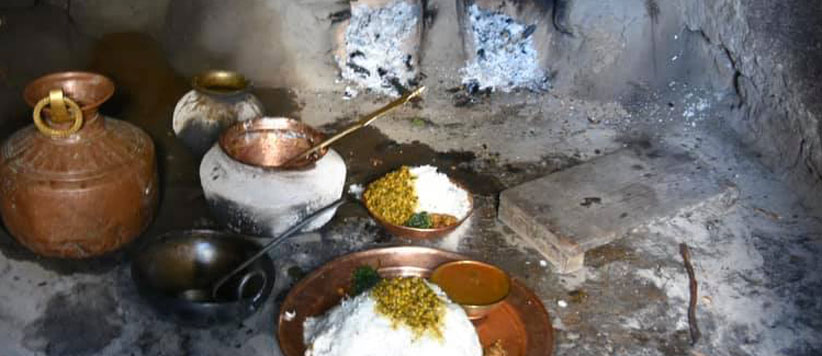 Kitchen in Uttarakhand