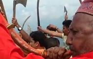 पहाड़ का पारम्परिक वाद्य यंत्र रणसिंघा बजाने वाले कल्याण सिंह
