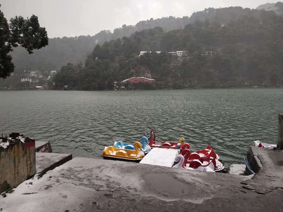 Snowfall 2019 in Nainital