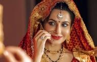 कुमाऊनी परिधान में भारतीय टेलीविजन की स्टार एक्ट्रेस
