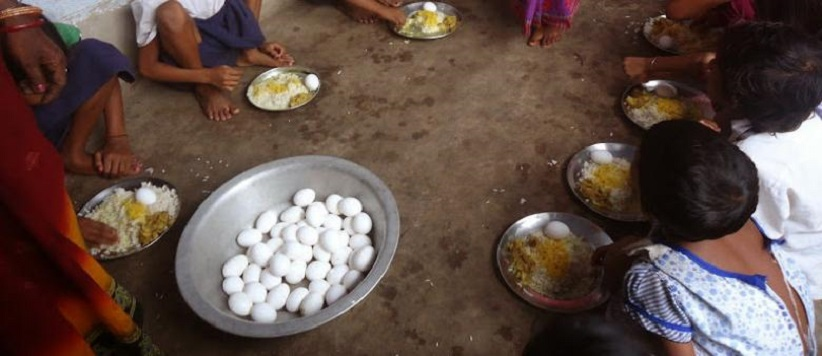 उत्तराखंड में अंडा चोर मैडम का वीडियो वायरल