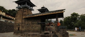 Shiva Temple in Garhwal