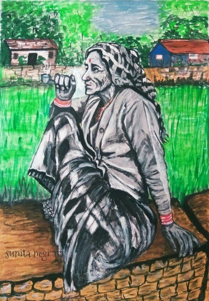 Sunita Negi Art Uttarakhand