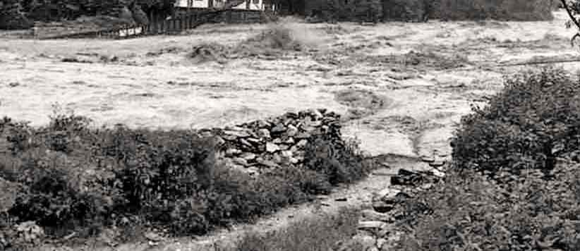 53 साल पहले बादल फटने की घटना का आँखों देखा हाल