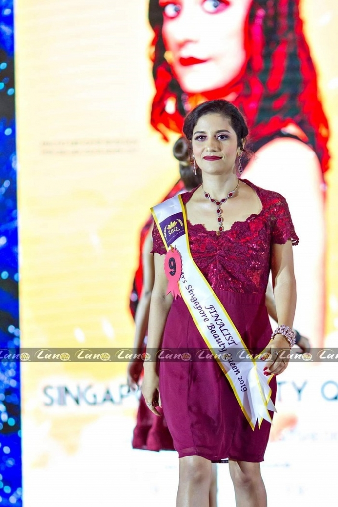 Mrs Singapore Beauty Queen 2019 Shradha Thapliyal