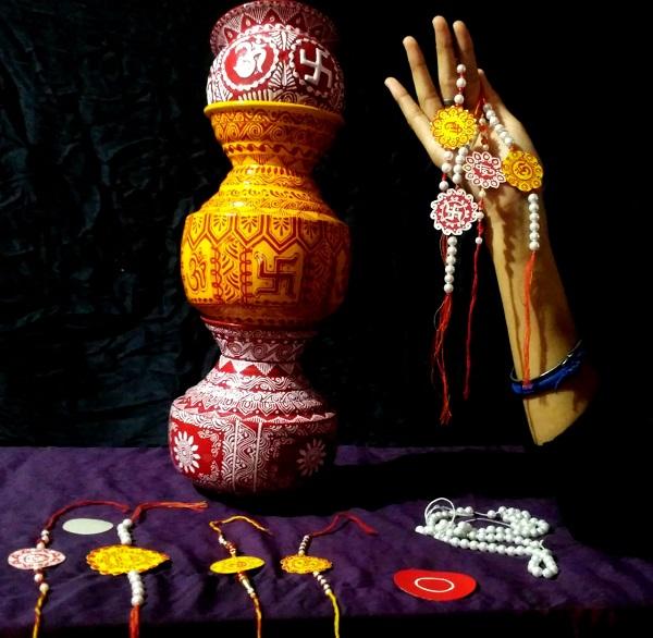 Kumaoni Rakhi by Nisha Punetha