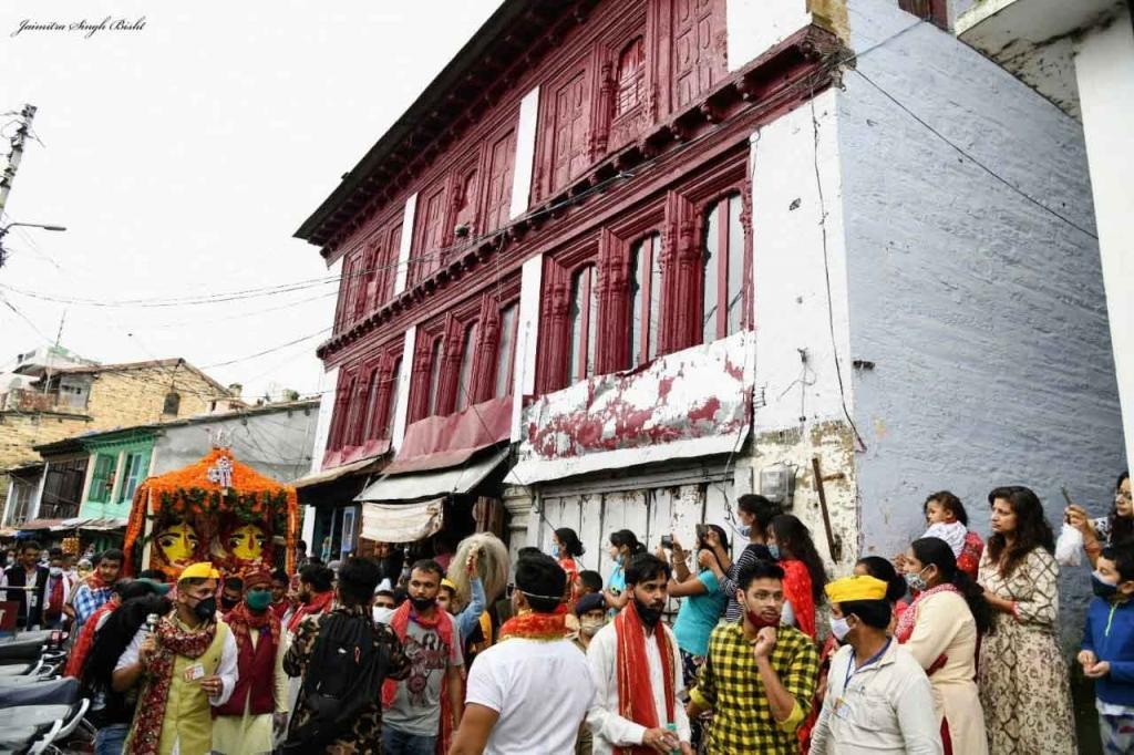 Photos of Nandadevi Festival Almora 2020