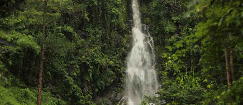 Chhid Waterfalls in Uttarakhand