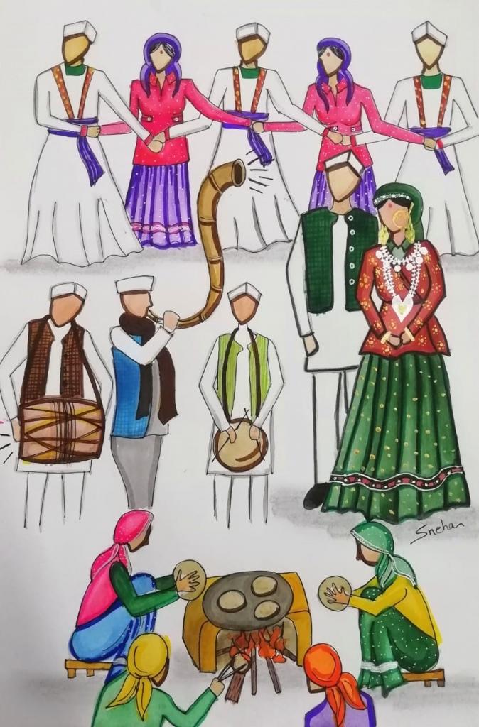 Jojoda Jaunsar-Bawar Marriage Tradition