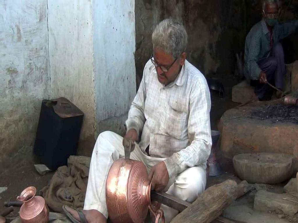 Copper Craftsman from Karkatamta Village