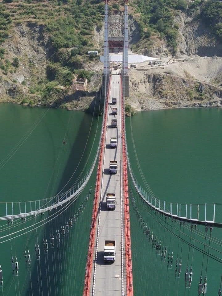 Dobra-Chanti Bridge Connecting