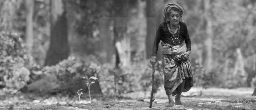साझी पीड़: एक बुजुर्ग पहाड़ी विधवा का दर्द