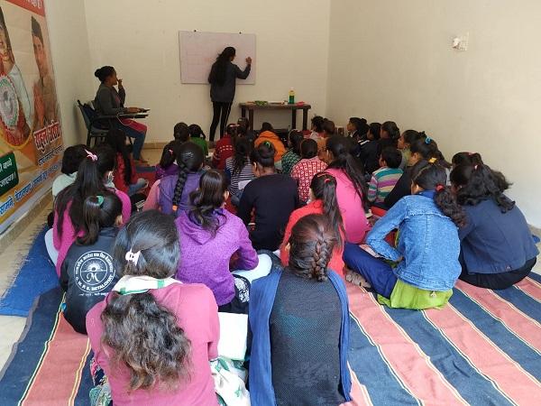 Aipan Training Camp by Hemlata Kabdwal