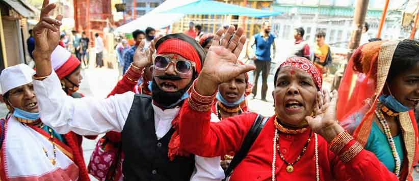 Women Holi Festival Almora 2021